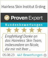 Erfahrungen & Bewertungen zu Hairless Skin