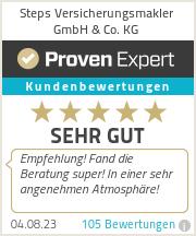 Erfahrungen & Bewertungen zu Steps Versicherungsmakler GmbH & Co. KG