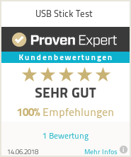 Erfahrungen & Bewertungen zu USB Stick Test