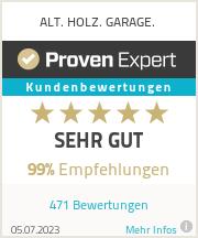Erfahrungen & Bewertungen zu ALT. HOLZ. GARAGE.