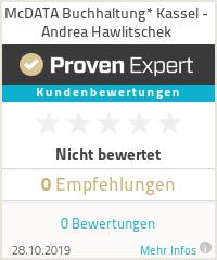 Erfahrungen & Bewertungen zu McDATA Buchhaltung* Kassel - Andrea Hawlitschek