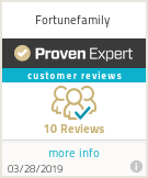Ratings & reviews for Fortunefamily