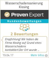 Erfahrungen & Bewertungen zu Wasserschadensanierung Kissing