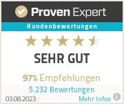 Erfahrungen &amp, Bewertungen zu ProvenExpert.com