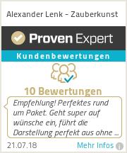 Erfahrungen & Bewertungen zu Zauberkünstler Alexander
