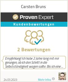 Erfahrungen & Bewertungen zu Carsten Bruns