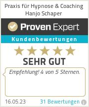 Erfahrungen & Bewertungen zu Praxis für Hypnose & Coaching Hanjo Schaper