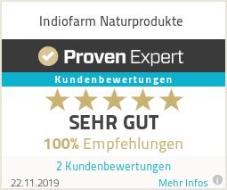 Erfahrungen & Bewertungen zu Indiofarm Naturprodukte
