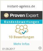 Erfahrungen & Bewertungen zu instant-ageless.de