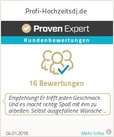 Erfahrungen & Bewertungen zu Profi-Hochzeitsdj.de