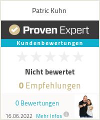 Erfahrungen & Bewertungen zu Patric Kuhn
