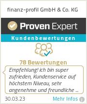 Erfahrungen & Bewertungen zu finanz-profil GmbH & Co. KG