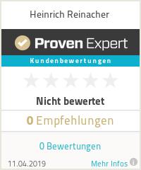 Erfahrungen & Bewertungen zu Heinrich Reinacher