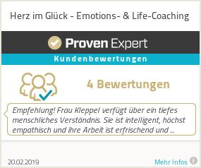 Erfahrungen & Bewertungen zu Herz im Glück - Emotions- & Life-Coaching