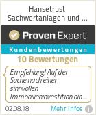 Erfahrungen & Bewertungen zu Hansetrust Sachwertanlagen und Investmentverm�gen