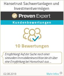 Erfahrungen & Bewertungen zu Hansetrust Sachwertanlagen und Investmentvermögen