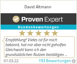Ratings & reviews for David Altmann | Low Carb Coaching
