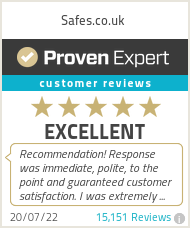 Ratings & reviews for Safes.co.uk