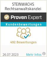 Erfahrungen & Bewertungen zu STEINWACHS Rechtsanwaltskanzlei