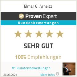 Erfahrungen & Bewertungen zu Elmar G. Arneitz