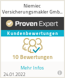 Erfahrungen & Bewertungen zu Niemiec Versicherungsmakler GmbH & Co. KG