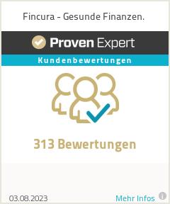 Erfahrungen & Bewertungen zu FINCURA - Gesunde Finanzen.