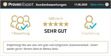 Kundenbewertungen & Erfahrungen zu Markus Deiss. Mehr Infos anzeigen.