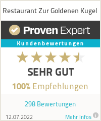 Erfahrungen & Bewertungen zu Restaurant Zur Goldenen Kugel