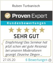 Erfahrungen & Bewertungen zu Ruben Turbanisch