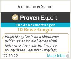 Erfahrungen & Bewertungen zu Viehmann & S�hne
