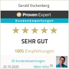 Erfahrungen & Bewertungen zu Gerald Vockenberg