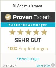 Erfahrungen & Bewertungen zu DJ Achim Klement