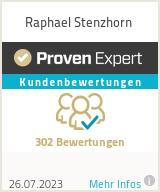 Erfahrungen & Bewertungen zu Raphael Stenzhorn