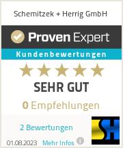 Erfahrungen & Bewertungen zu Schemitzek + Herrig GmbH