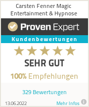 Erfahrungen & Bewertungen zu Carsten Fenner Magic Entertainment & Hypnose