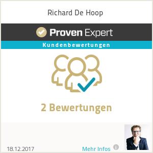 Erfahrungen & Bewertungen zu Richard De Hoop