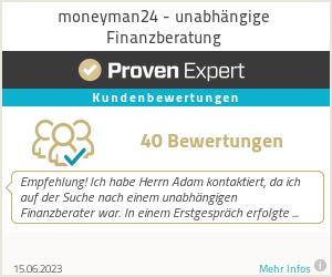 Erfahrungen & Bewertungen zu moneyman24 - unabhängige Finanzberatung