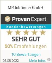 Erfahrungen & Bewertungen zu MR Jobfinder GmbH