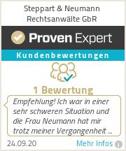 Erfahrungen & Bewertungen zu Steppart & Neumann Rechtsanwälte GbR