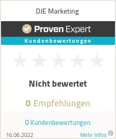 Erfahrungen & Bewertungen zu DJE Marketing