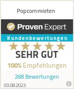 Erfahrungen & Bewertungen zu Popcornmieten