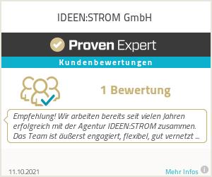 Erfahrungen & Bewertungen zu IDEEN:strom GmbH