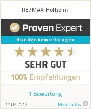 Erfahrungen & Bewertungen zu RE/MAX Hofheim