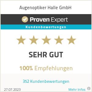 Erfahrungen & Bewertungen zu Augenoptiker Halle GmbH