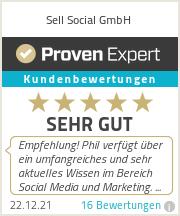 Erfahrungen & Bewertungen zu Sell Social GmbH