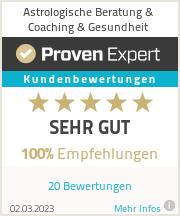 Erfahrungen & Bewertungen zu Astrologische Beratung & Coaching & Gesundheit