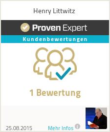 Erfahrungen & Bewertungen zu Henry Littwitz