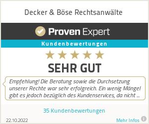 Proven Expert - Kundenbewertungen
