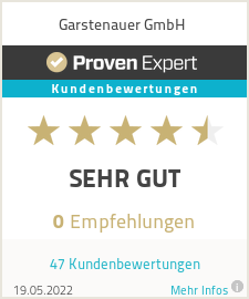 Erfahrungen & Bewertungen zu Garstenauer GmbH
