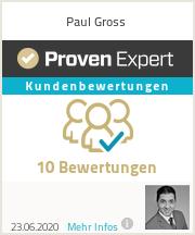 Erfahrungen & Bewertungen zu Paul Gross